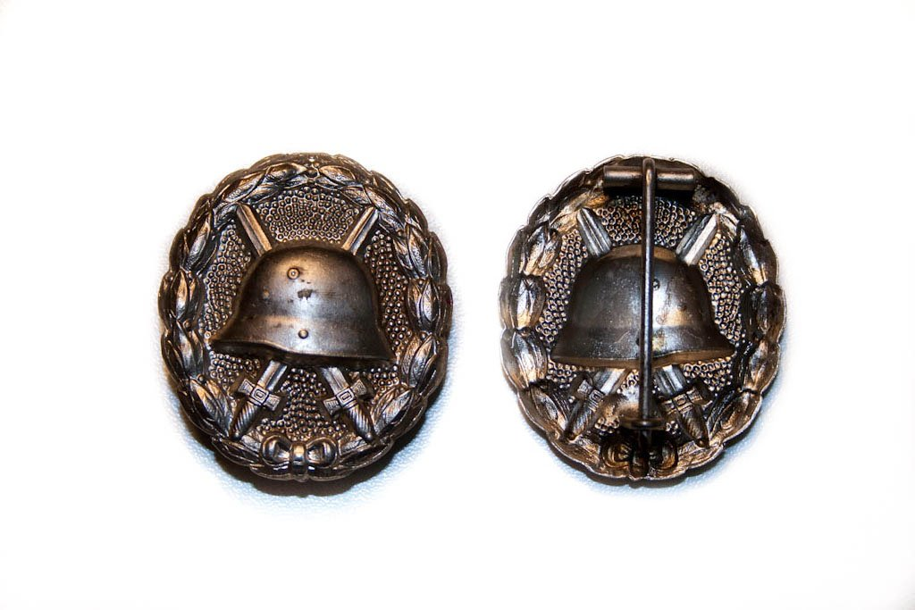 Wound Badge 1914 sølv